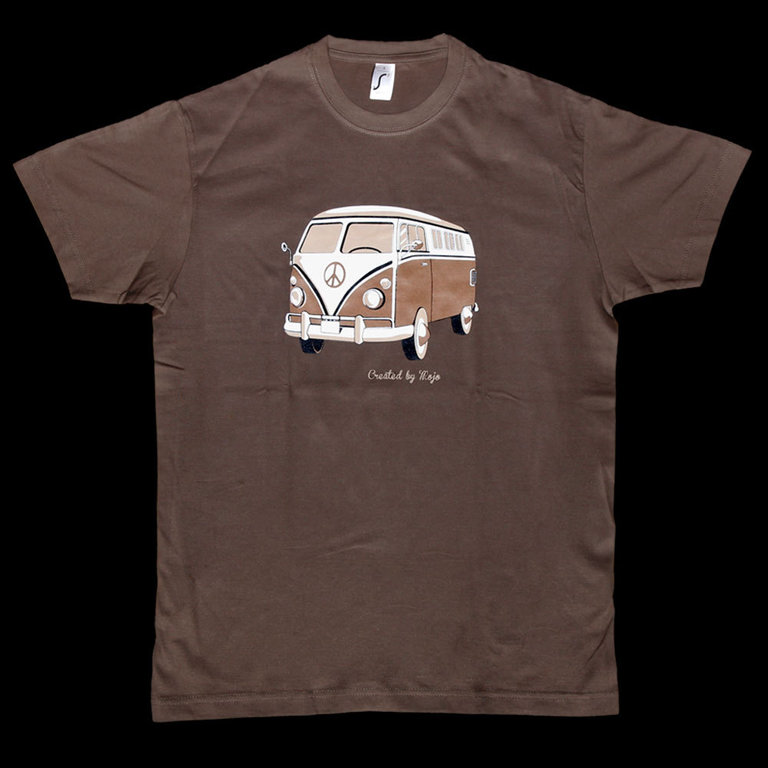 herren t shirt mit motiv vw bus aktion. Black Bedroom Furniture Sets. Home Design Ideas